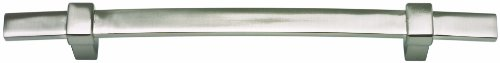 Atlas Homewares 304-BRN Buckle Up Collection 9.3-Inch Mega Pull, Brushed Nickel - Brn Buckle