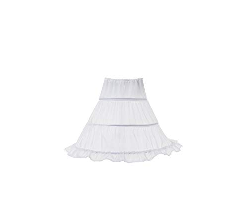 Girl Costume Teenage Clothing Party Elegant Princess Long Tulle Lace Wedding Ceremony,White,12