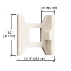 CRL Standard Flush Bolt Guide - DL2210SG