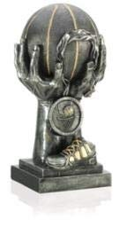 Order Fast Awards Basketball Elite Trophy Gunmetal Resin 17 Inches