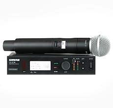 - Shure ULXD24/SM58 G50 | Single Handheld Wireless System ULXD4 ULXD2/SM58