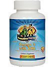 Nature's Sunshine Sunshine Heroes Omega 3 with DHA 90 Soft Chews Each (Pack of 2) by Nature's Sunshine