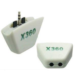 Headset Earphone Converter Adapter for Xbox 360: Amazon.co.uk: PC ...