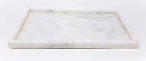 Ben&Jonah MC-PC12-PW Rect 18x10 Medium Rectangel Tray ()