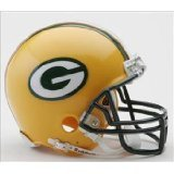 Greenbay Packers mini replica helmet by Riddell