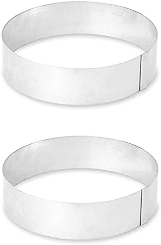 LloydPans Kitchenware Pizza Cooling Ring (Set of 2)