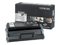 Original Lexmark (12A7400) 3000 Yield Black Toner Cartridge - Retail ()