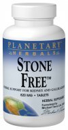 Planetary Herbals Stone Free 820mg Supplement Herbal Support – 90 Tablets