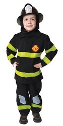 Fire Fighter Child Costume - -