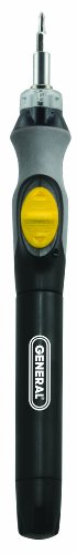 General Tools 502 Cordless Lighted Power Precision -