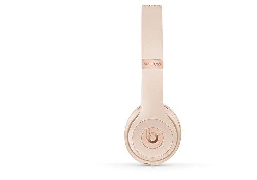 Beats Solo3 Wireless On-Ear Headphones - Matte Gold - Boston Fanz 6a7ca8c1c9