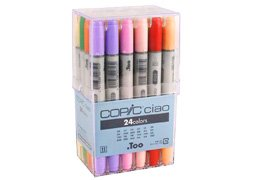 Copic Ciao Markers Set of 24 from COPIC/IMAGINATION INTERNL