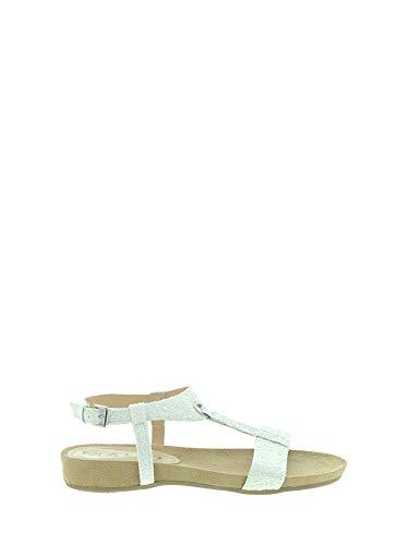 Donna Mally Sandalo 40 Bianco 4681 POAwqOU