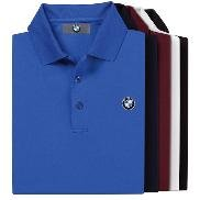 BMW Genuine Logo Men's Tech Polo Shirt / Burgundy XXL