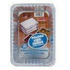 Handi Foil Food Storage Container 5 Ct