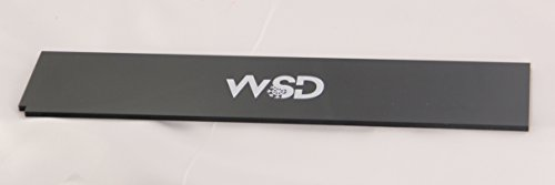 WSD Snowboard Wax Scraper WidePlexi Tuning Snowboard and skis Wax Scraper 30cm (11 7/8 inch Long)