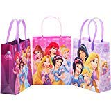Princess Disney 12 Premium Quality Party Favor Reusable Medium Plastic Gift Goodie Bags 8