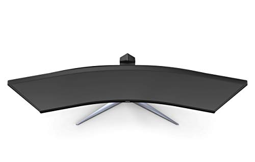 "AOC CU34G2X 34"" Curved Frameless Immersive Gaming Monitor, UltraWide QHD 3440x1440, VA Panel, 1ms 144Hz Adaptive-Sync, Height Adjustable, 3-Yr Zero Dead Pixels"
