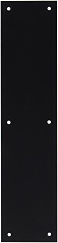 Deltana PP3515U19 3 1/2-Inch x 15-Inch Solid Brass Push Plate
