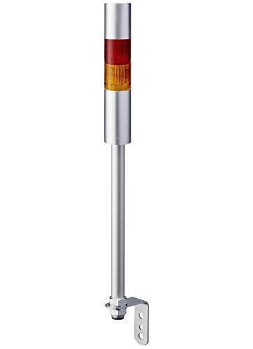 Patlite Beacon with Alarm LR4-202LJBU-RY