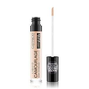 Catrice Cosmetics Correcteur liquide, à fort pouvoir couvrant et ultra longue tenue, n°001 Fair Ivory, 5 ml.