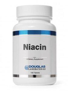 Douglas Labs - niacine 100 mg 100 tabs