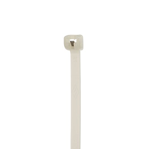 Cable Tie with Stainless Steel Barb, 50 Tensile Strength, 11'' Length, Natural by NSI (Image #2)