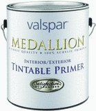 Valspar Medallion Tintable Interior Exterior Latex Primer Quart