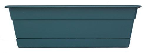 Bloem DCBT24-48 Dura Cotta Plant Window Box, 24-Inch, Turbulent by Bloem
