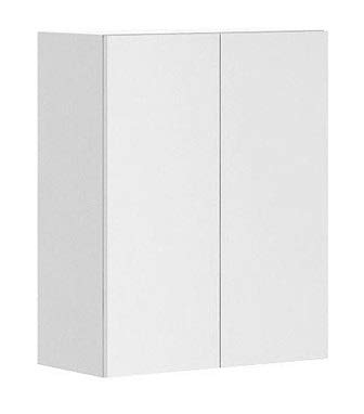 24x30x12.5 in. Alexandria Wall Cabinet in White Melamine and Door in White