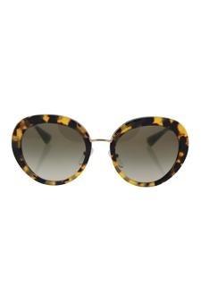 140baee860f Amazon.com   Prada Spr 16q 7s0-4m1 - Medium Havana green Gradient Sunglasses  For Women   Beauty