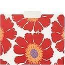 File Folders, Red Wildflowers & Poppy