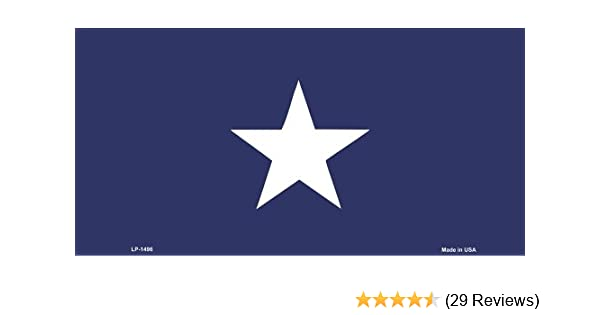 Texas State Flag Aluminum Automotive Novelty License Plate Tag Sign Smartblonde