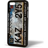 Supernatural Licanse Plate for Iphone Case (iPhone 5/5s Black) (Galaxy 4s Supernatural Cases)
