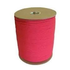 1000 Ft 550 Cord Paracord Spool - Type III Mil-Spec Commercial - 25+ Colors - Wholesale Paracord (Neon Pink) by OSS - Our School Spirit