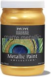Mm658-06 6oz Gold Rush Matte Metallic Paint Collection