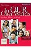 img - for In Our Own Words Student Writer At Work book / textbook / text book