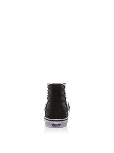 Bestelwagens Patent Galaxy Sk8-hi Slim Mens Skateboarden-schoenen Zwart / True White