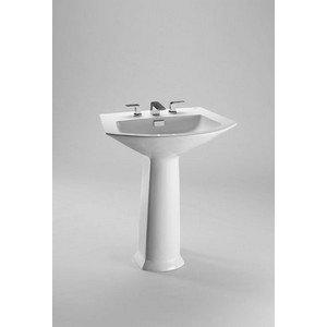 Toto LPT960#51 Soiree Pedestal Lavatory, Bone Bone Soiree Vitreous China Lavatory