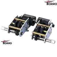 Torro 5in1 Stahl-Flachgetriebe, kurze Welle