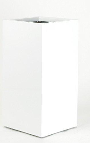 Amazon Vase Source Tall Shiny White Square Flower Pot Stand