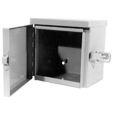 Outdoor Telephone Enclosures (Milbank 12126-TC3R Outdoor Weather Resistant Hinged Cover Junction Box)