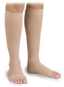 Surgical Weight Activa - Activa Surgical Weight 30-40 mmHg Knee High Open Toe, Beige, X-Large