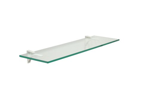 Clear Tempered Glass Shelf - Clear Floating Glass Shelf 8