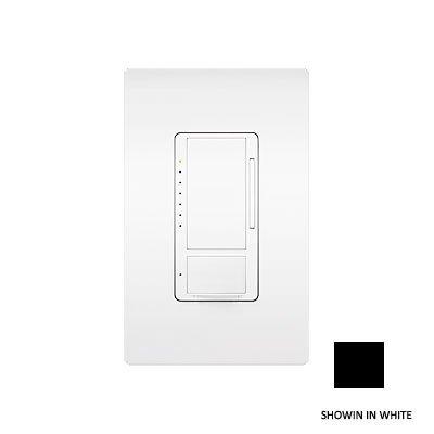 Lutron MS-OPS6M-DV-BL Maestro 6 Amp Dual Voltage Occupancy Sensing Switch, Black