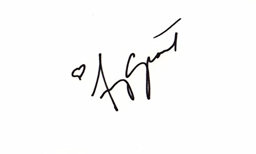 - Amy Grant Signed - Autographed 3x5 inch Index Card - contemporary Christian Singer