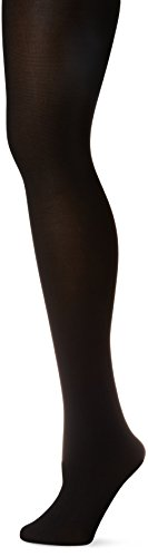 LEGGS SILKY TIGHTS, BLACK, Size Medium