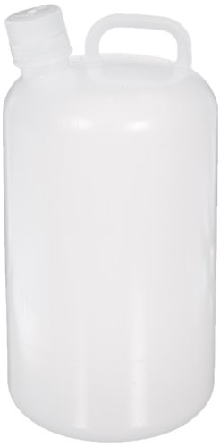 Nalgene Polypropylene Bottle Jug, 1 Gallon Capacity (Case of 6) - Polypropylene Carboy