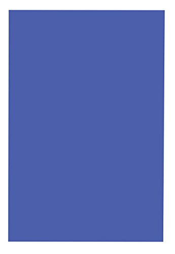 School Smart 1485749 Railroad Board, 6-ply Thickness, 22'' x 28'', Dark Blue (Pack of 25) by School Smart
