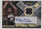 Danny Granger (Basketball Card) 2006-07 SPx - Flashback Fabrics - Autograph [Autographed] #FF-DG